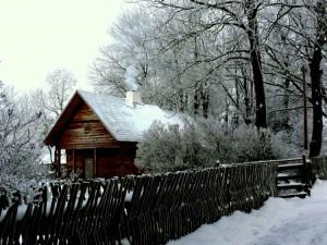 Klėtis Kunigiškių kaime