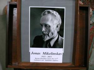 Rašytojas Jonas Mikelinskas