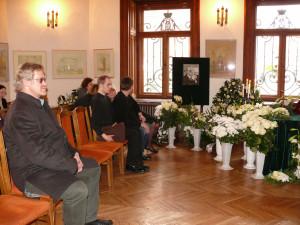 Rašytojo Petro Dirgėlos laidotuvės