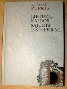 Mugėje buvo pristatyta kalbininko Aldono Pupkio knyga