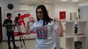 Ant marškinėlių užrašyta - Justice for Khojaly
