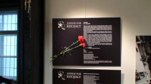 LGGRTC Genocido muziejuje atidaryta paroda Hodžaly aukoms atminti. Slaptai.lt nuotr.