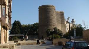 Azerbaidžanietiški bokštai