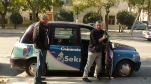 Baku taksistai. Slaptai.lt nuotr.