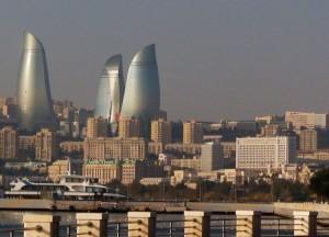 Didinga Azerbaidžano sostinė Baku. Slaptai.lt nuotr.