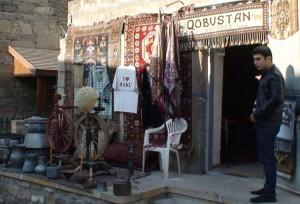 Krautuvėlė Baku senamiestyje. Slaptai.lt nuotr.