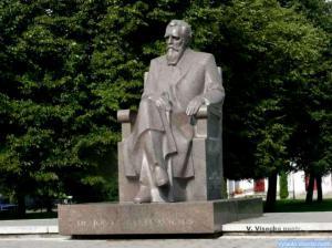 Basanavičiaus paminklas Vilkaviškyje