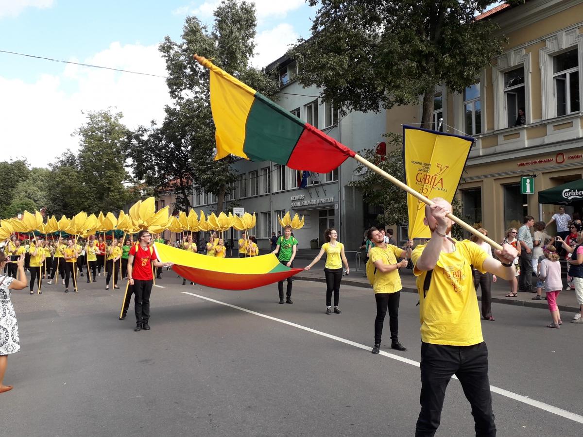 Lietuviai didžiuojasi savo Lietuva