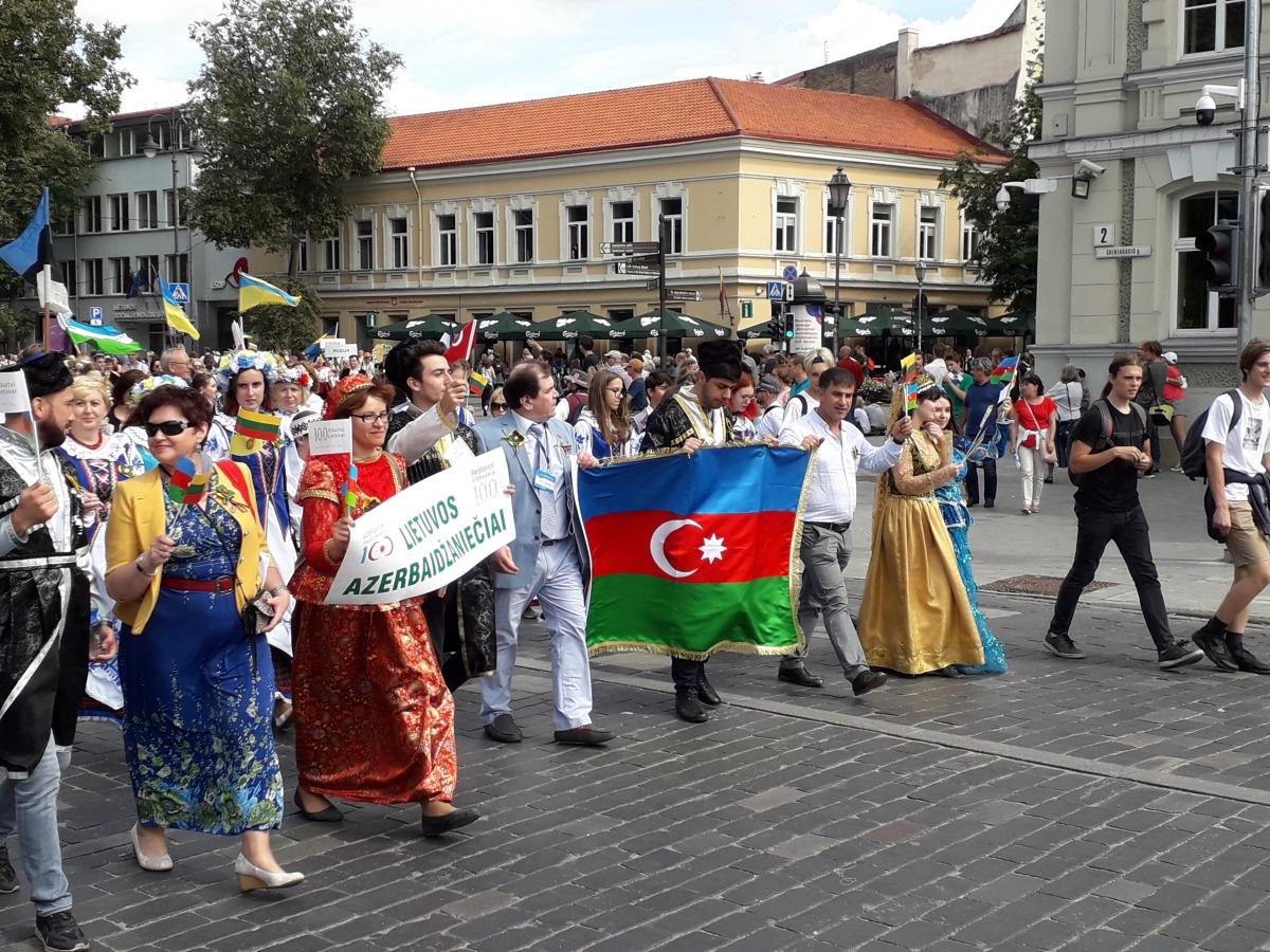 Lietuvos azerbaidžaniečių eisena