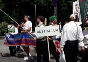 Į Liepos 6-osios šventę atvyko net iš Australijos