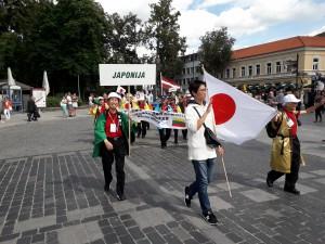 Japonai taip pat gerbia Lietuvos Karalių Mindaugą