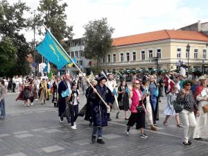 Karalių Mindaugą pagerbė net Kazachstano, Uzbekistano svečiai