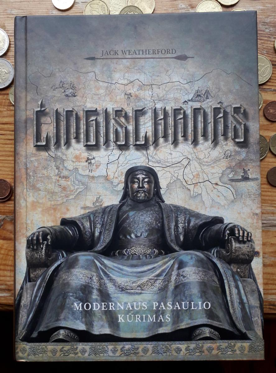Knyga apie Čingischaną. Slaptai.lt nuotr.