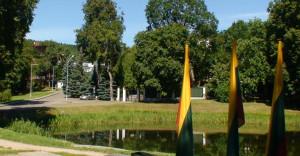 Rusijos ambasada Vilniuje. Slaptai.lt nuotr.