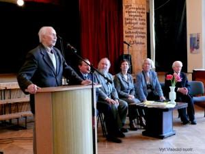 Vilius Bražėnas buvo puikus oratorius