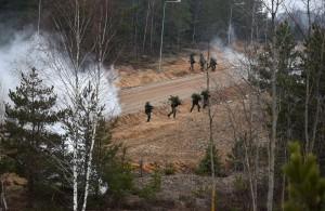 Lietuvos ir Čekijos karių pratybos (1)