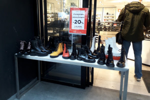 Batų parduotuvė. Slaptai.lt foto