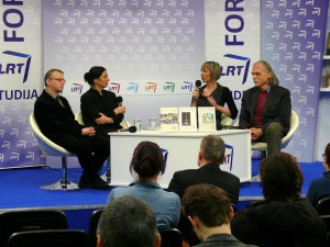 Su skaitytojais susitiko N.Kardelis, S.Trilupaitytė, R.Repšienė ir V.Rubavičius