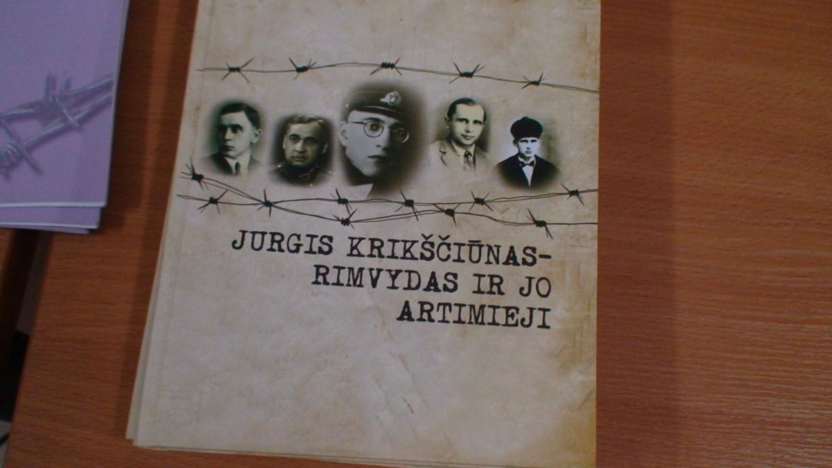 Knyga apie partizaną. Slaptai.lt nuotr.