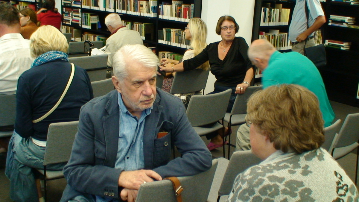 Literatūrologas Algimantas Bučys. Slaptai.lt nuotr.