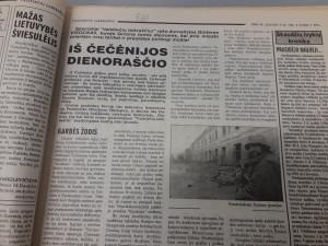 Iš Čečėnijos dienoraščio. Slaptai.lt nuotr.