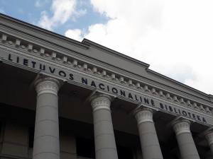 Lietuvos Nacionalinė biblioteka. Slaptai.lt nuotr.