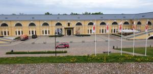 Buvusiame arsenalo pastate įsikūręs Marko Rotko daugiafunkcis meno centras.