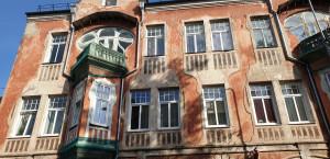 Judenstiliaus namas Saulės gatvėje (Saules iela).