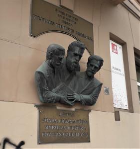Trys Lietuvos didžiavyriai. Slaptai.lt nuotr.