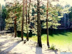 Kryžiuočių ežero pakrantė