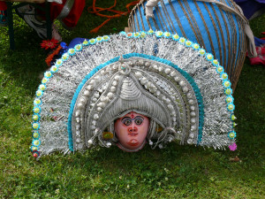 Kaukė. Tarptautiniame folkloro festivalyje. Slaptai.lt nuotr.