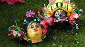 Kaukės. Tarptautinis folkloro festivalis. Vytauto Visocko nuotr.