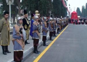 Įspųūdingi azerbaidžaniečių kariai