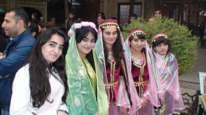 Azerbaidžaniečių merginų šypsenos
