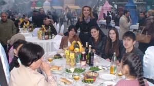 Azerbaidžaniečių vaišingumui nebuvo ribų