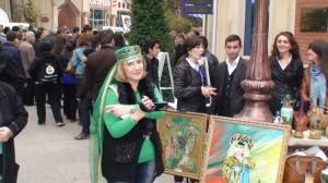 Nuoširdi azerbaidžanitiška šypsena