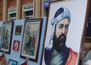 Paveiksluose - Azerbaidžano didvyriai