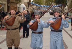 Senoji Azerbaidžano sostinė Giandža svečius pasitinka dainomis
