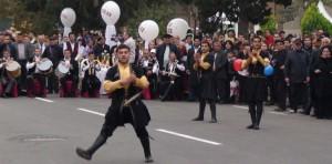 Temperamentingi azerbaidžaniečių šokiai