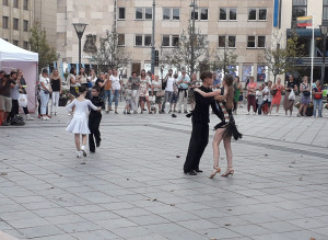 Jaunųjų šokis. Slaptai.lt nuotr.