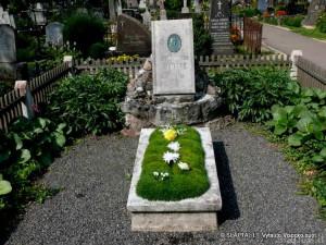 J.Žemaitės kapas Marijampolės kapinėse