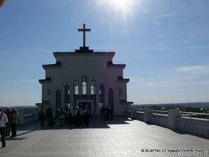 Kauno Kristaus Prisikėlimo bažnyčios fragmentas