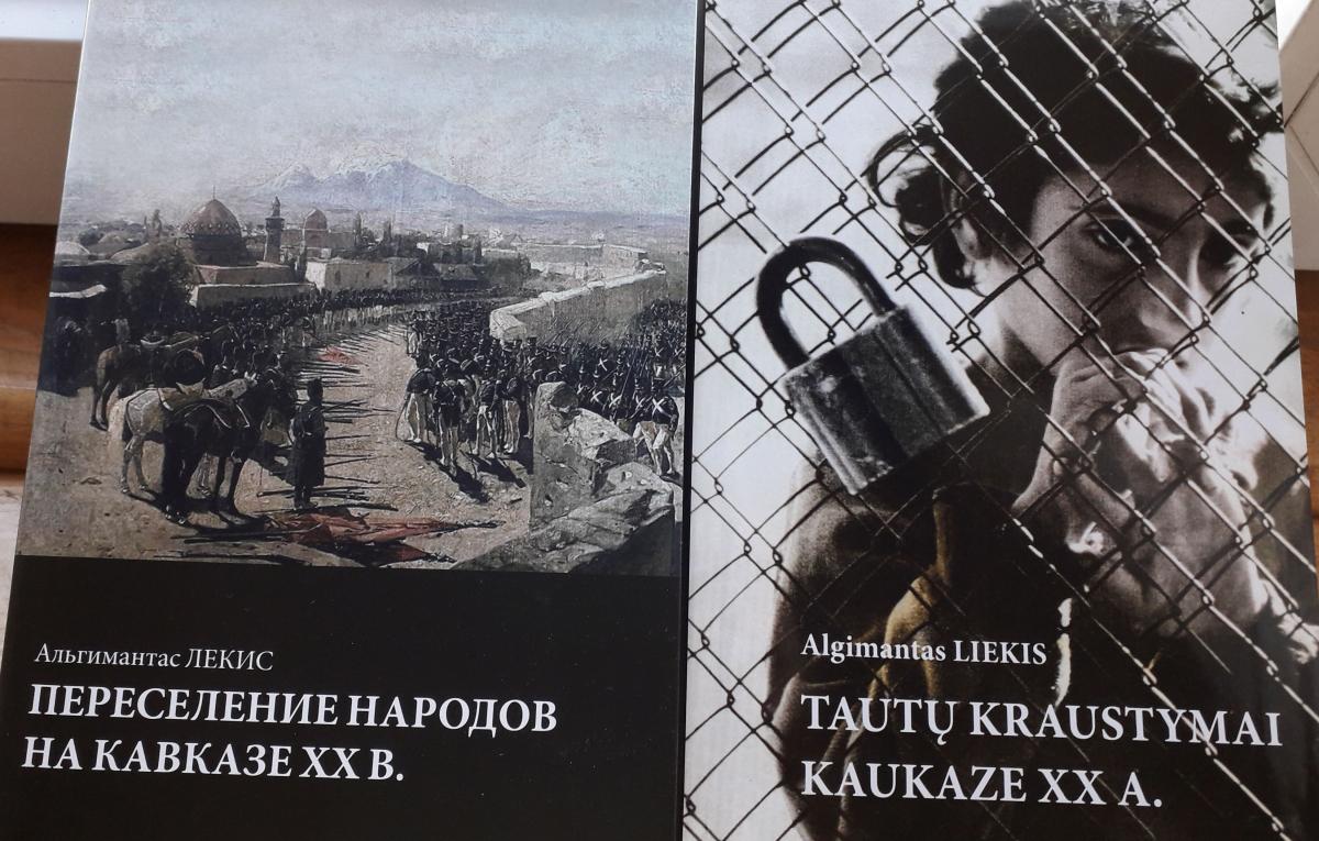 Algimanto Liekio veikalai Pietų Kaukazo tema. Slaptai.lt nuotr.
