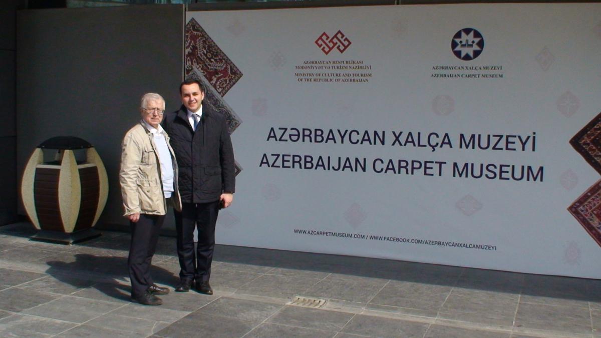 Azerbaidžano valstybiniame kilimų muziejuje. Slaptai.lt nuotr.