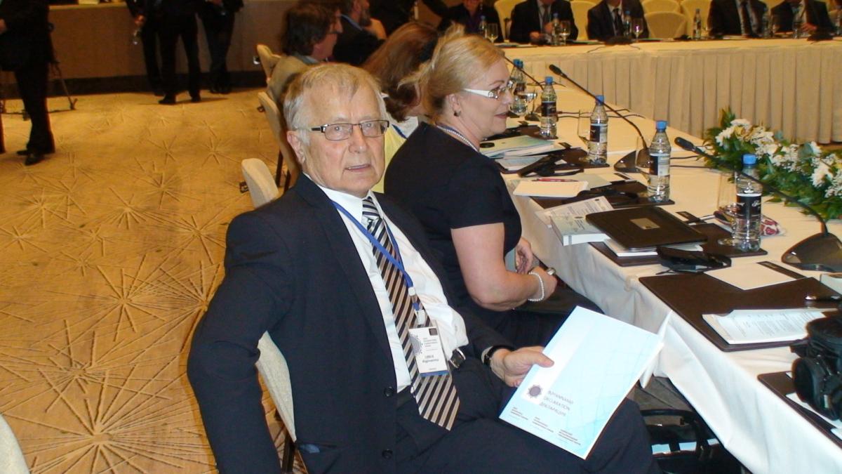 Baku tarptautinėje konferencijoje. Slaptai.lt nuotr.