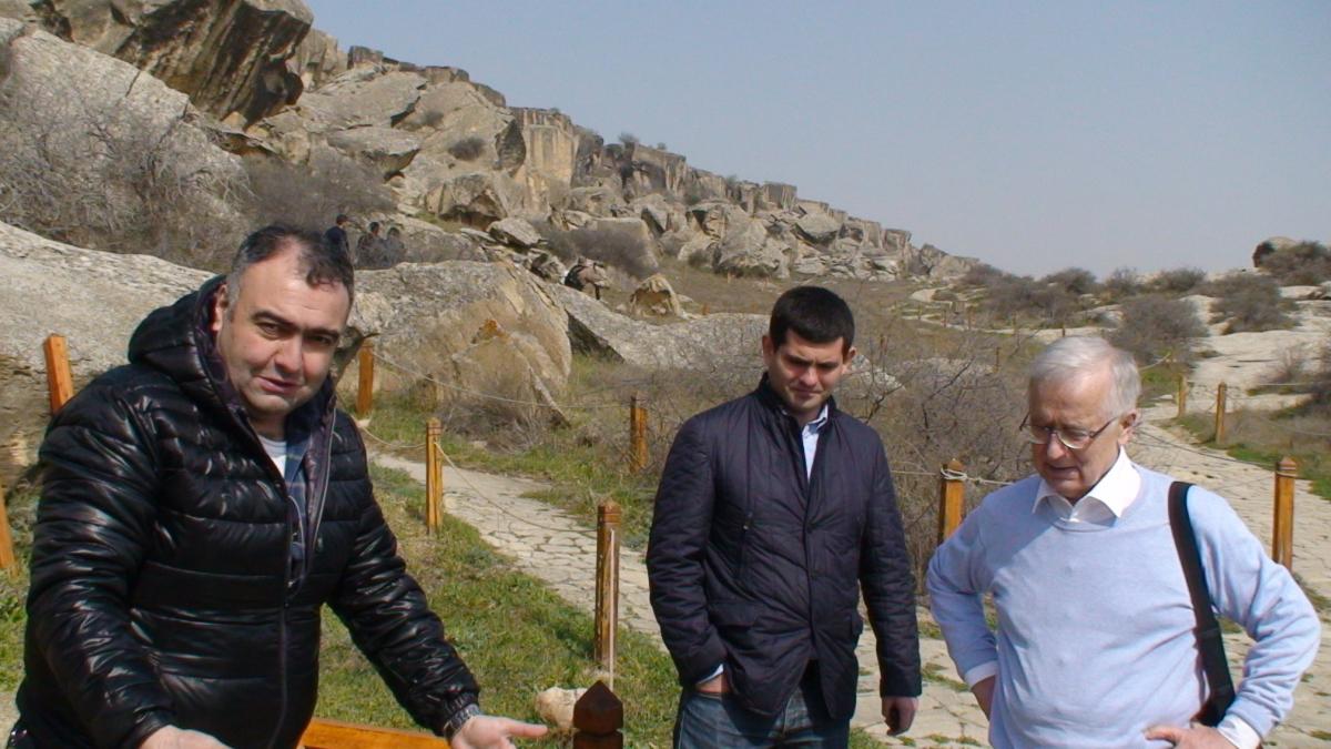Gobustano kalnuose prie Baku. Slaptai.lt nuotr.