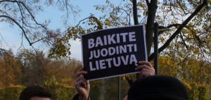 Baikite juodinti Lietuvą. Slaptai.lt nuotr. - Copy