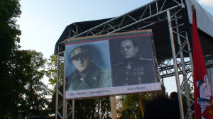 J.Noreikos ir K.Škirpos portretai. Slaptai.lt nuotr.