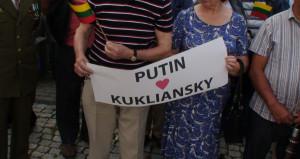 Putin - Kurliansky. Slaptai.lt nuotr.