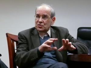 Kalba Lietuvos Kultūros kongreso Tarybos pirmininkas filosofas Krescencijus Stoškus